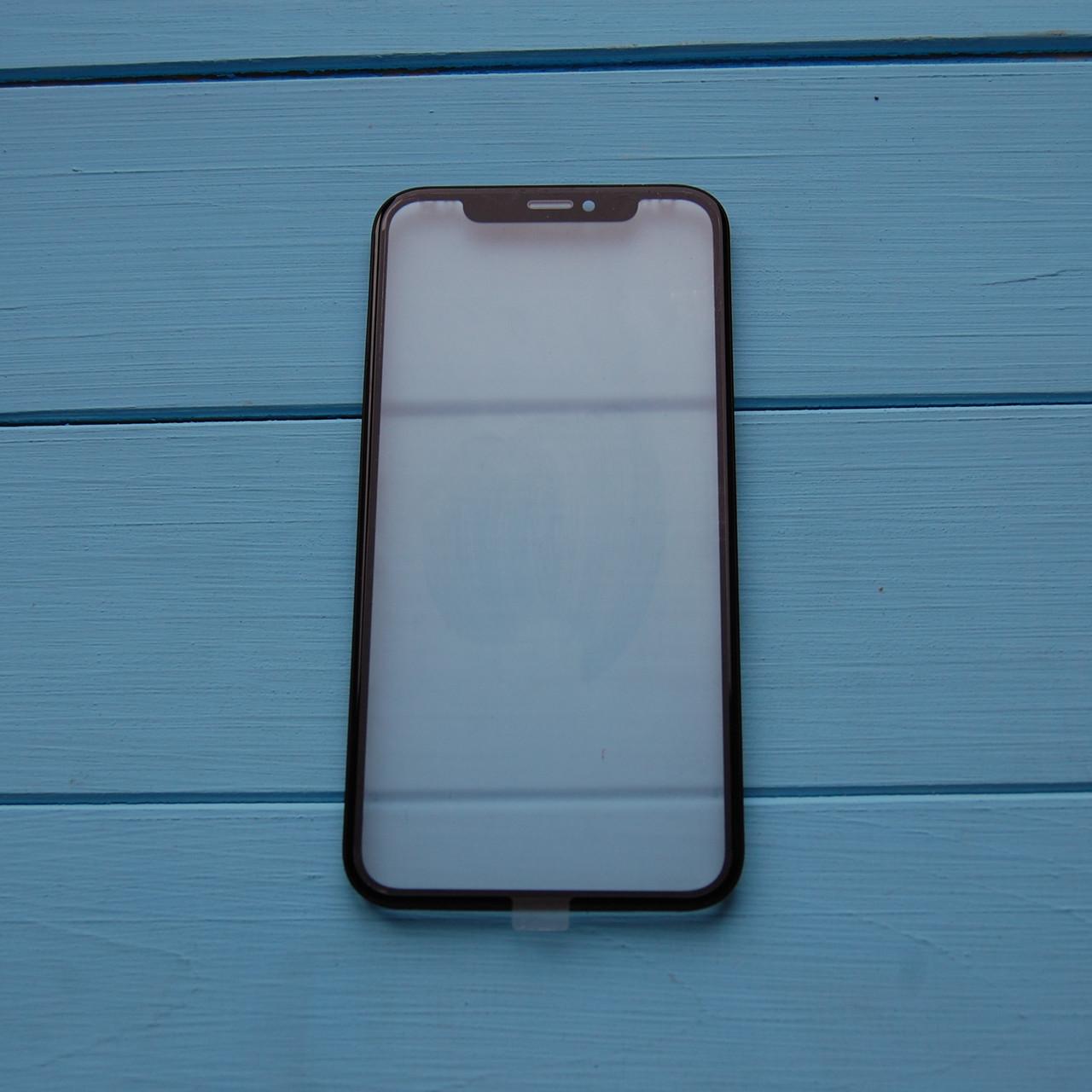 Стекло корпуса Apple iPhone XR с рамкой, OCA пленкой