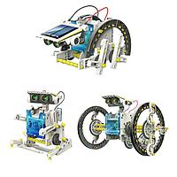 Робот конструктор Solar Robot Kit 13 в 1 Educational 2115 на солнечных батареях (par_2115)