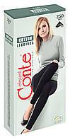 Леггинсы женские хлопковые Conte Cotton Leggings 7С-39СП, 250 Den, р.2, nero