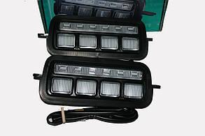 Подфарник светодиодный (указатель поворотов) с ДХО ВАЗ 2121, 21213, 21214 Тюн-Авто (комплект 2 шт.)