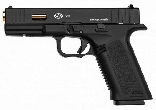 Пістолет пневматичний SAS Glock G17 Blowback (4,5 мм)
