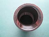Отвод под 45 градусов из нержавеющей стали AISI 316 (А4), резьба внутренняя-внутренняя, фото 3