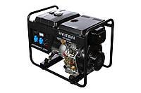Дизельный генератор 4 кВт Hyundai Diesel DHY 5000L (Бесплатная доставка по Украине)