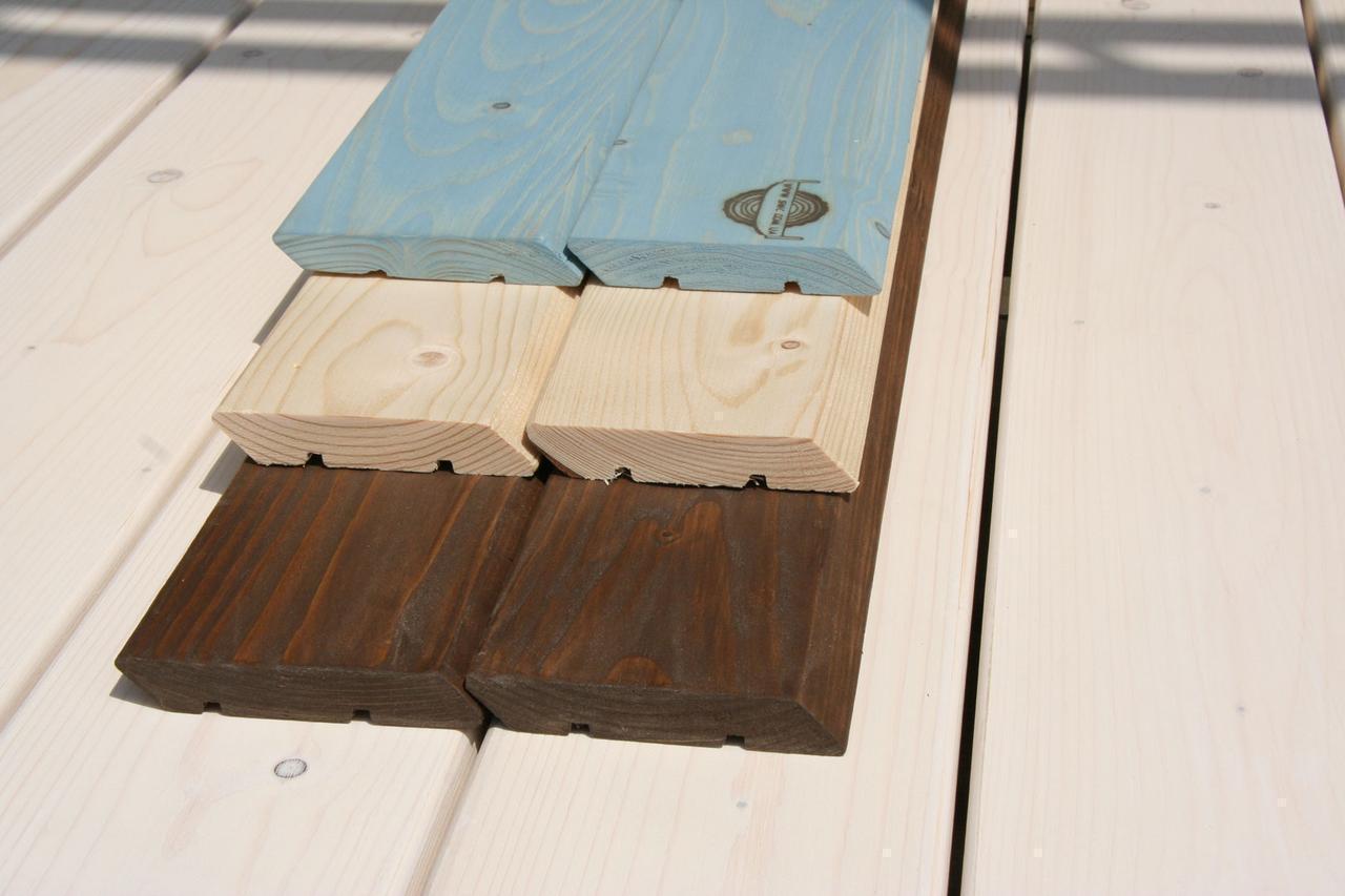 Фасадная доска планкен