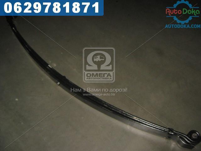 Рессора передний ГАЗ 33104 ВАЛДАЙ 3-х листовой 1670х75х45 (с шарнирами) (производство  Чусовая)  33104-2902010