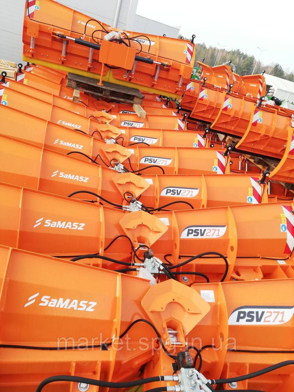 Снегоочиститель, отвал для трактора PSV SaMASZ