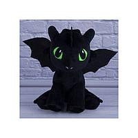 """Мягкая игрушка дракон Беззубик из мультфильма """"Как приручить дракона"""""""