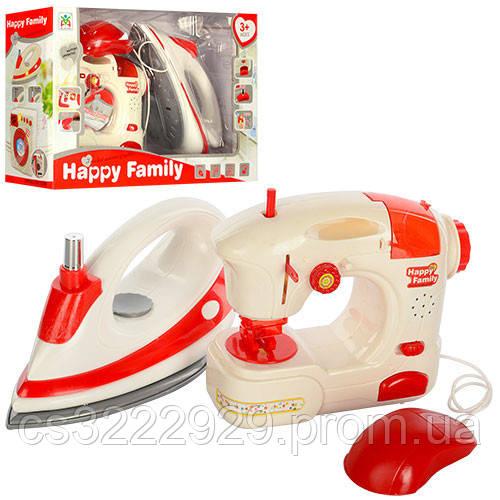 Детский набор бытовой техники (утюг+швейная машина) LS8236K