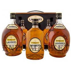 Набор виски Lauder's Scotch Whisky (Лаудерс Скотч Виски) 43%, 2х1л + 1х0,5л