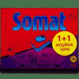 Средство для посудомоичной машины Сомат Все-в-1 (48+48) Дуопак, фото 2