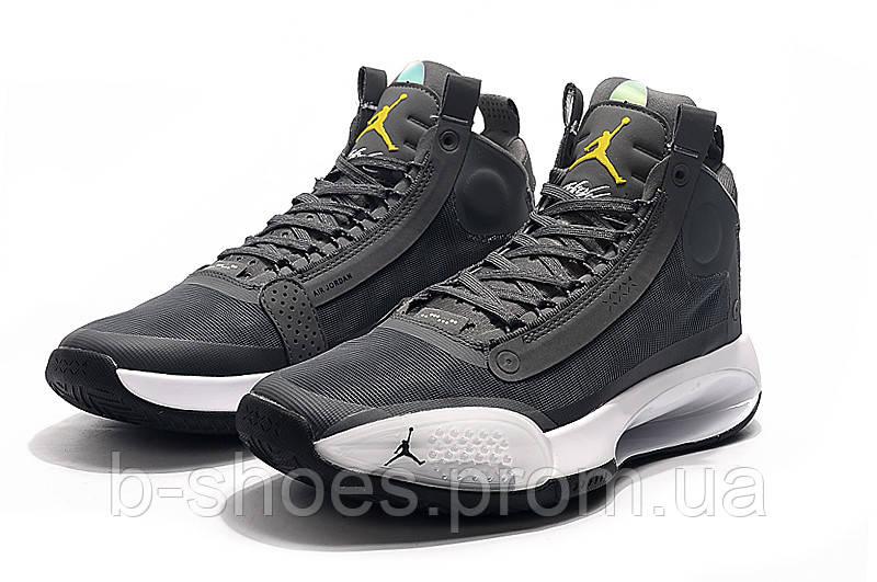 Мужские Баскетбольные кроссовки Air Jordan 34(Grey)