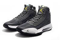 Мужские Баскетбольные кроссовки Air Jordan 34(Grey), фото 1