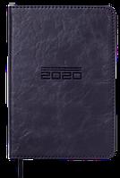 Ежедневник карманный датированный в линию Buromax 2020 Altrium, 336 страниц, A6 чёрный