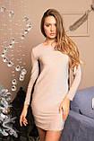 Вечернее платье с люрексом и кружевом зима 2020 р-ры 42 - 52 Nui very, фото 4