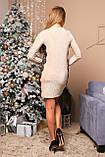 Вечернее платье с люрексом и кружевом зима 2020 р-ры 42 - 52 Nui very, фото 6
