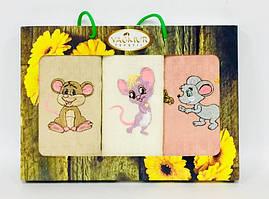 Набор полотенец с мышонок