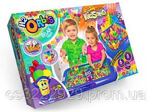 Кинетический песок с песочницей Danko Toys 3в1 Big Creative Box ORBK-01
