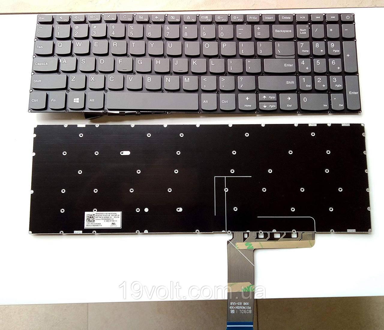 Клавиатура для ноутбука Lenovo Ideapad 320-15ABR 320-15AST 320-15IAP англ