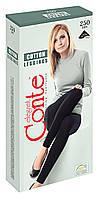 Леггинсы женские хлопковые Conte Cotton Leggings 7С-39СП, 250 Den, р.4, nero
