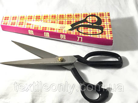 Ножницы швейные 12 черные, фото 2