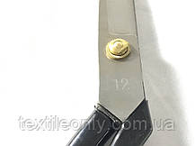 Ножницы швейные 12 черные, фото 3