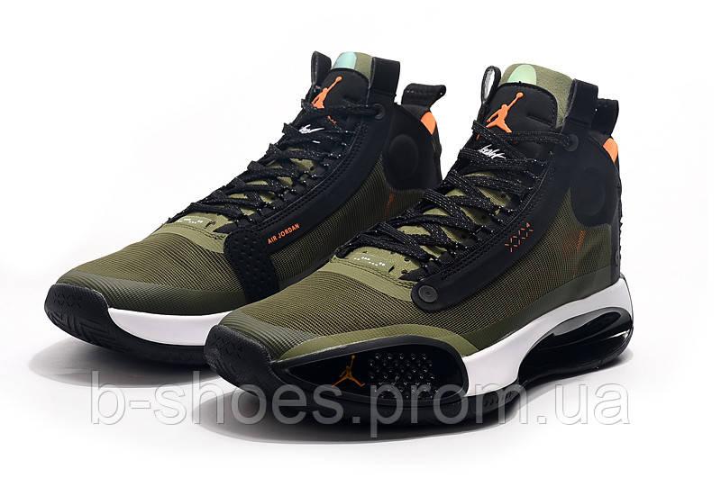 Мужские Баскетбольные кроссовки Air Jordan 34(Green)