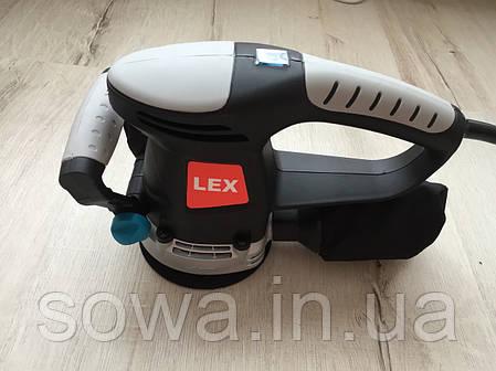 ✔️ Орбітальна, Ексцентрикова шліфувальна машина LEX LXRS85, фото 2