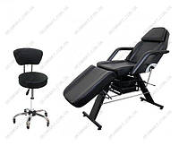 Кушетка косметологічна CH-202 + стілець майстра CH-591