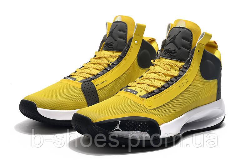 Мужские Баскетбольные кроссовки Air Jordan 34(Yellow)