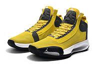 Мужские Баскетбольные кроссовки Air Jordan 34(Yellow), фото 1