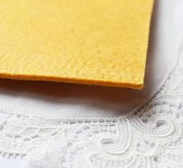 Фетр 20*30 см, 3 мм, желтый1шт