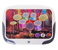 """Планшет 3d интерактивный """"барабаны"""" db 6883 c2 (белый)"""