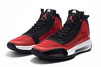 Мужские Баскетбольные кроссовки Air Jordan 34(Black/red), фото 1