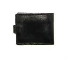 Мужской кожаный кошелек DNK Leather Черный (DNK Full Purse col.J), фото 2