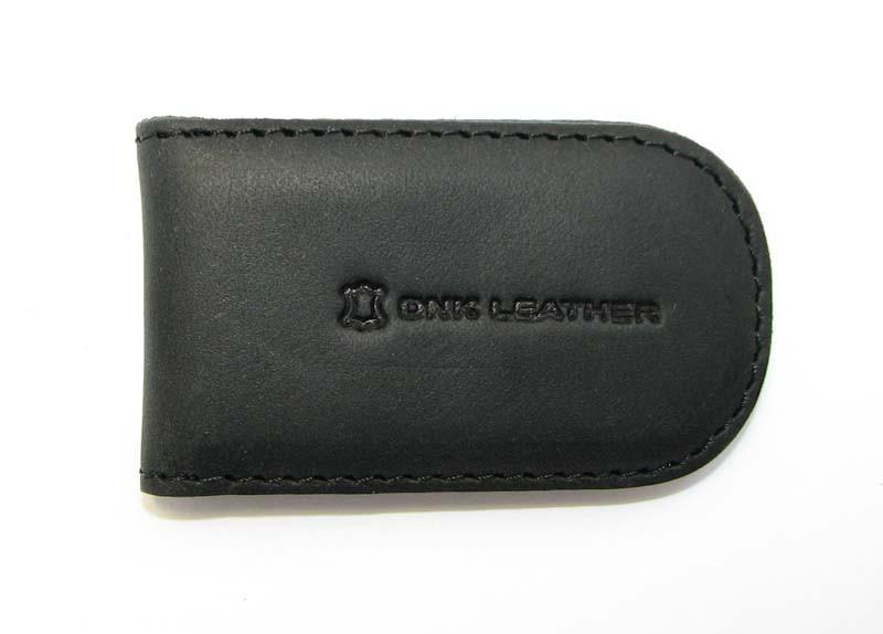 Зажим для денег DNK Leather Черный (DNK Klip magnes-H col.J)