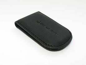 Зажим для денег DNK Leather Черный (DNK Klip magnes-H col.J), фото 2