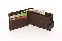 Мужской кожаный кошелек DNK Leather Коричневый (DNK Full Purse col.F), фото 3