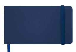 Еженедельник карманный датированный в линию Buromax 2020 Touch Me, 136 страниц, синий