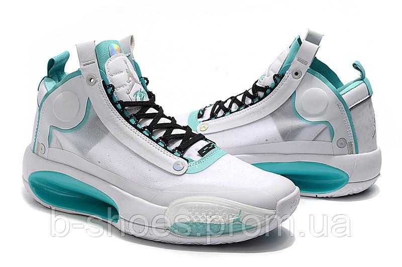 Мужские Баскетбольные кроссовки Air Jordan 34(White)