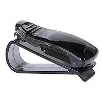 """Клипса-зажим, держатель  для очков, визиток в автомобиль """"Sunglasses clip"""" (черный)"""