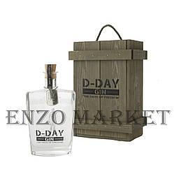Джин D-Day Wooden (Ди-Дэй в деревянной коробке) 40.4%, 0,7 литра