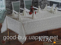 "Скатерть Monolife Home Store ""Exclusive Table   160х220+8   pr-s30"