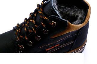 Мужские зимние кожаные ботинки в стиле Walker New Seazone, фото 2
