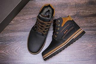 Мужские зимние кожаные ботинки в стиле Walker New Seazone, фото 3