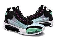 Мужские Баскетбольные кроссовки Air Jordan 34(Black/multicolor), фото 1