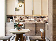 Кухонный фартук Камень (фотопечать, наклейка на стеновую панель кухни кирпичная кладка декоративный скинали)