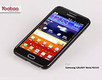 Силиконовый чехол для телефона Yoobao 2 in 1 Protect case for Samsung i9220 Galaxy Note, black (PCSAMI9220-BK)