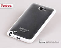 Силиконовый чехол для телефона Yoobao 2 in 1 Protect case for Samsung i9220 Galaxy Note, white (PCSAMI9220-WT)