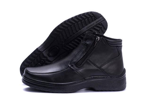 Мужские зимние кожаные ботинки в стиле Matador clasic два замка, фото 2