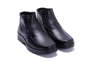 Мужские зимние кожаные ботинки в стиле Matador clasic два замка, фото 3